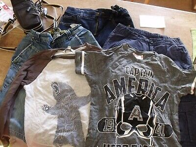 Bundle of boy's clothes (age 9-11) - jeans/shorts/trousers/tops (Marvel/M&S)
