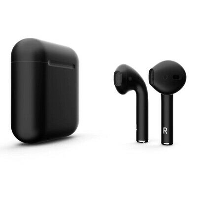 2x Earbuds with rechargeable case wireless bluetooth one White and one Black