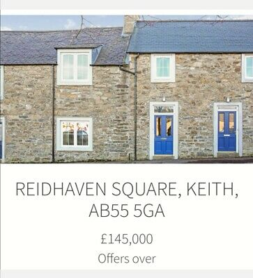3 Bedroom House for sale in Keith, Moray