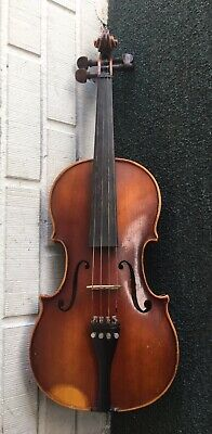 1975 E.R. Pfretzschner 4/4 Violin Model 301C One Piece Back Stradivarius Copy