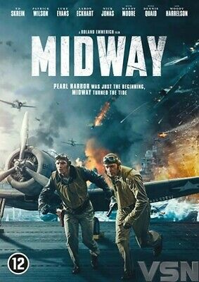 Dvd - Midway  (2019)  Woody Harrelson  (Nieuw / New / Nouveau / Sealed )