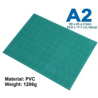 A2 Thick 5-ply PVC Self Healing Cutting Mat Double Side Art Craft Leather DIY