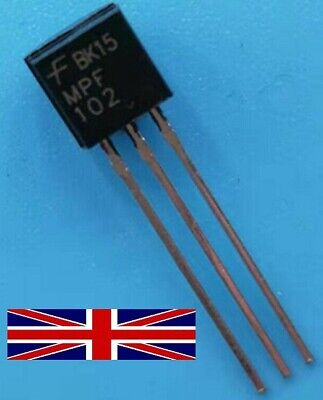 MPF102 TO-92 Transistor from Fairchild Semiconductor