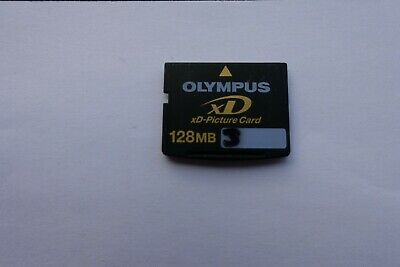 128MB XD Olympus Memory Picture Card.