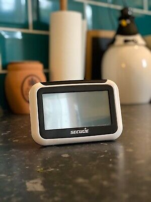 SECURE Smart Meter Monitor Pipit 500 White Home Energy Display Wireless Wired AC