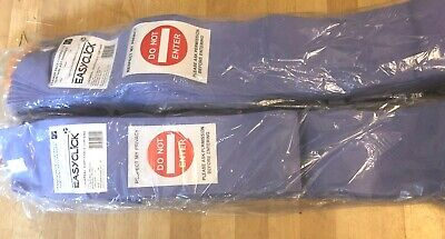 2XPcs.Clinic Cubic Patient Bed Privacy Curtain 4.2X1.9m Universal Anti Bacterial