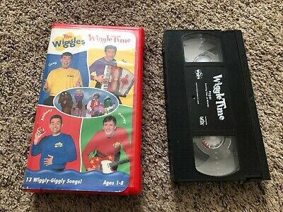 The Wiggles - Wiggle Time VHS Video Tape 2000 Clam Shell