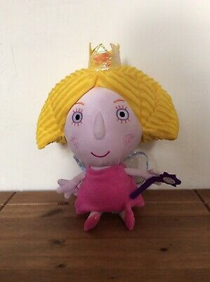 Large Talking Princess Holly 14/'/' Soft Plush Toy Ben and Holly/'s Little Kingdom