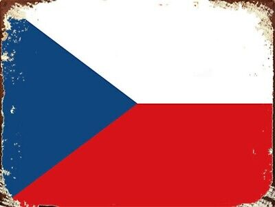 90x150cm with Reinforcement Band and Metal Hooks Czech Republic National Flag