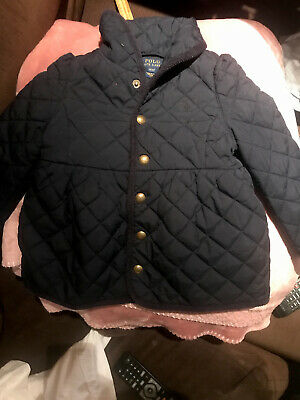 Girls Ralph Lauren Quilted Jacket Age 3 Years