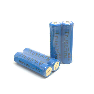 TrustFire Protected TR 18650 2500mah 3.7V Li-ion Battery Rechargeable Batteries