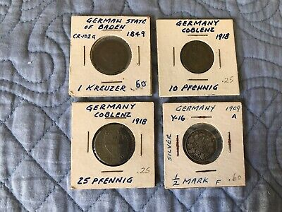 Lot of German Coins -T