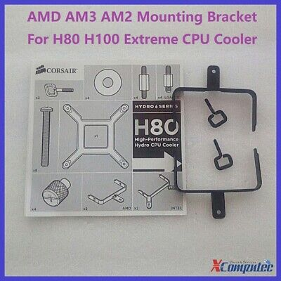 Corsair AMD AM3 AM2 Mounting Bracket with Clip For Old H80 H100 Extreme Cooler