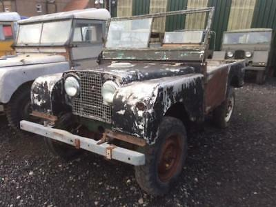 1953 Land Rover Series 1 80 inch for Restoration