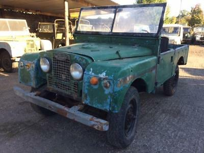 1955 Land Rover Series 1 86 inch 6 Cylinder