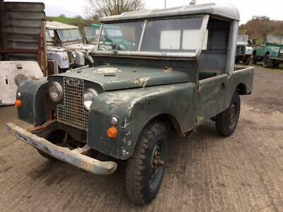 Land Rover Series 1 86 inch - Great Chassis and Bulkhead