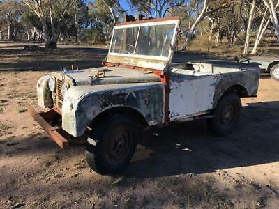 1953 Land Rover series 1 80 inch - Excellent Chassis and Bulkhead