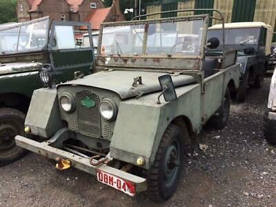 Land Rover Series 1 80 inch Minerva Jeep