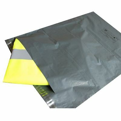 50 MAILING BAGS GREY PARCEL PACKAGING 12 x 16 and 10 x 14 Cheapest by far!