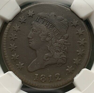 1812 Classic Head Large Cent NGC VF30 Great Type Coin