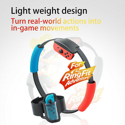 Ring Fit Adventure Fitness Game Set-- Standard Edition (Nintendo Switch, 2019)//
