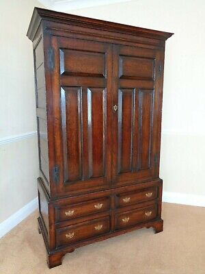 A Vintage Bylaw Antique Style Oak Wardrobe