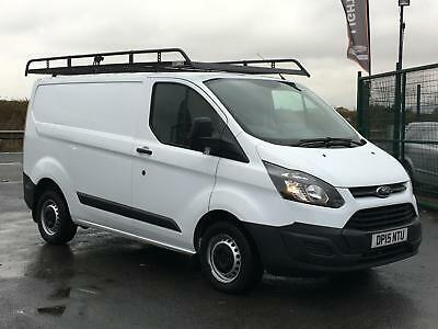 Ford Transit Custom Eco 2.2Tdci 100Bhp Swb Low Roof Van In White. *One Owner*