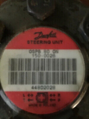 Hydraulic Drive Steering Motor OMP80 Sauer Danfoss New Original Stock
