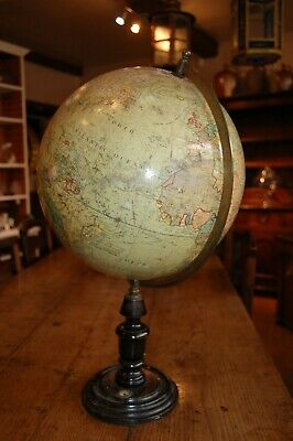 Desk Globe by John Heywood LTD Large Late C19th