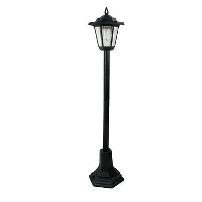LED Garden Lights Lamp Post Solar Powered Lantern Patio Pathway Walkway Outdoor
