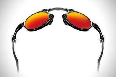 Oakley Madman Polarized Glass Orange Metal X Collection