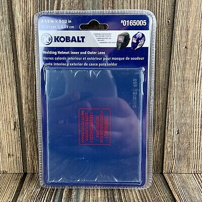 Kobalt Welding Helmet Inner And Outer Lens Replacement 4-1/3 x 3-1/2 #0165005