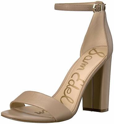 Sam Edelman Womens Yaro Leather Open Toe Ankle Strap 7.5 8 8.5 9 10 Sandals $120