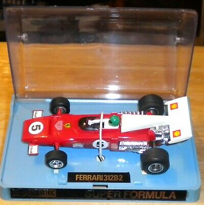 Scalextric Ferrari 312 B.2  Ref C.025  # 5 RX Version Excellent Boxed