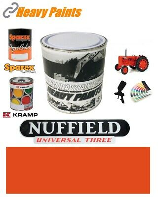 Nuffield Red Orange Paint High Endurance Enamel Paint 1 Litre Tin