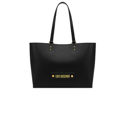 BORSA SHOPPER LOVE MOSCHINO con logo colore Nero EUR 139