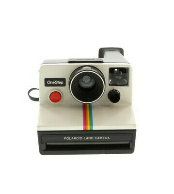 Polaroid One Step (SX-70) Camera *With Impossible Project Frog Tongue* - BG