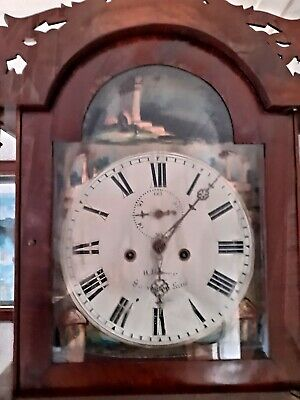 8 Day Striking Mahogany Longcase Clock Easingtom GWO