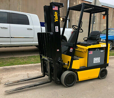 Yale 36V Sideshift Electric Forklift 4000 lb Cap. 189 in Lift (ERC040AGN36TE082)