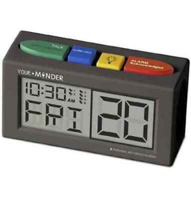 MedCenter Your Minder Personal Recordable Talking Alarm Clock
