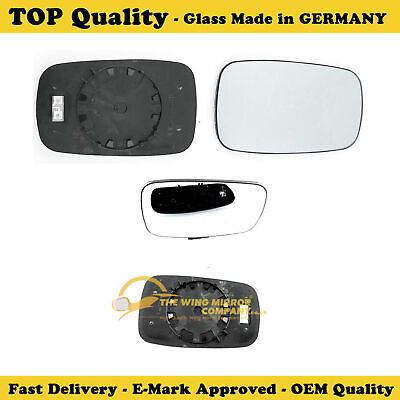 For Renault Scenic 09-16 Left passenger side Flat wing mirror glass with plate