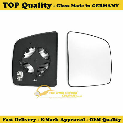 Right Hand Driver Side Mirror Glass for Ford Transit Connect 2013-2019 0795RS