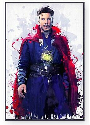 "New 2020 Marvel Avengers End game Super Hero ""Doctor Strange"" Wall Art Poster"