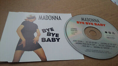 MADONNA  'Bye Bye Baby'   RARE 1993 7 TRK REMIX GERMAN CD SINGLE