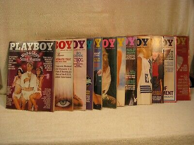 Playboy Magazine Lot ( Individually listed & Priced) 1968-1980