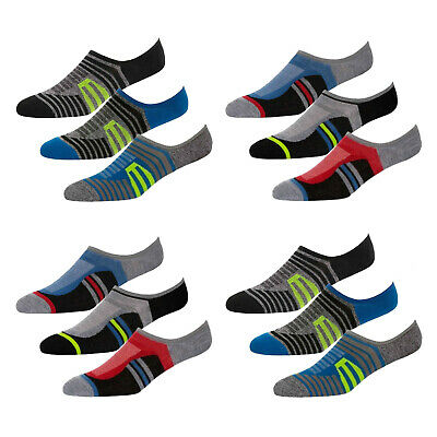 6 3 Pairs Mens Womens Invisible Sports Footies No Show Loafer Trainer Socks