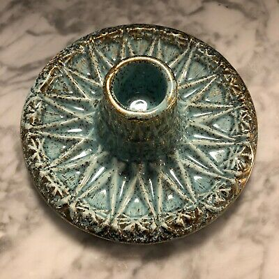 Vintage Mid-Century Ceramic Tapered Candle Holder