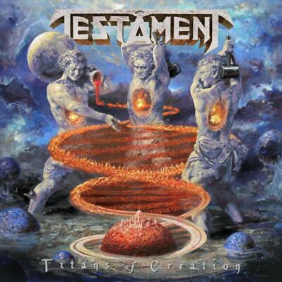 TESTAMENT 'TITANS OF CREATION' CD (PRE-ORDER : 17th April 2020)