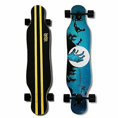 41 Inch Drop Through 8 Ply Maple Complete Longboards Skateboard Cemetery
