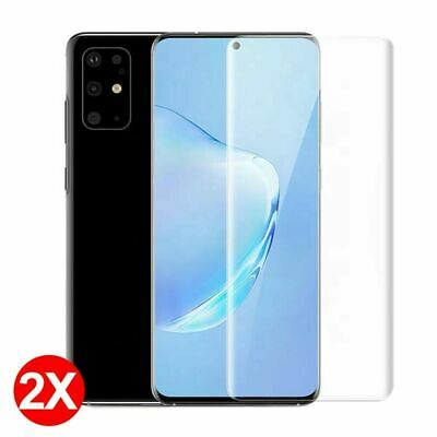 For Samsung Galaxy S20 Ultra S10 Plus Full Cover Hydrogel Film Screen Protector